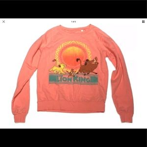 Disneys The Lion King sweatshirt